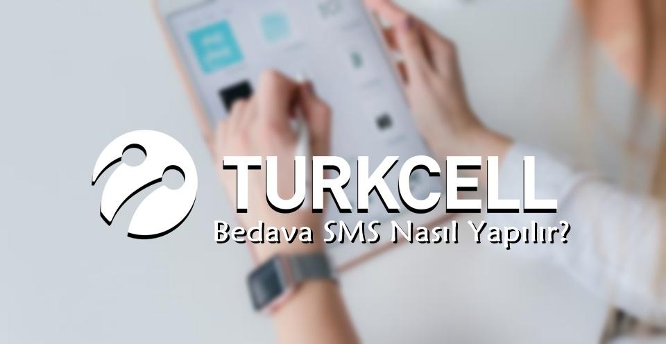 Turkcell Bedava SMS Paketi Nasıl Yapılır?