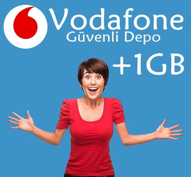 Vodafone Güvenli Depo Hediye İnternet